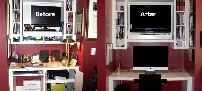 Makeover Monday: Home office remodel
