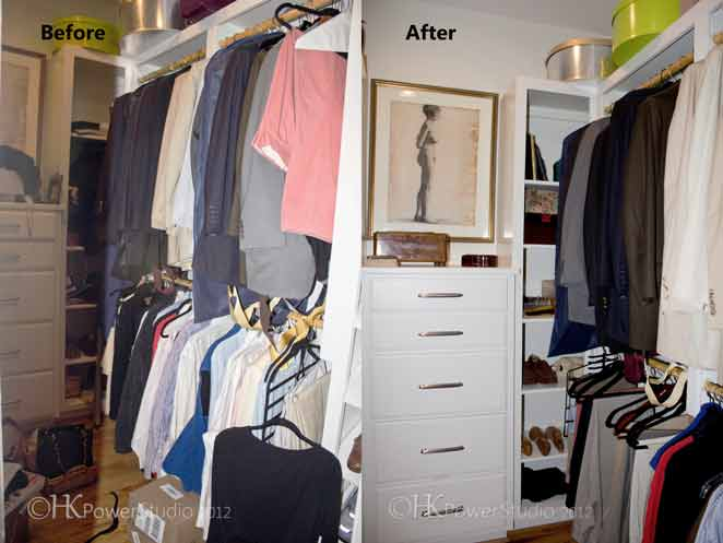 Makeover monday his hers walk in closet for His and hers walk in closet