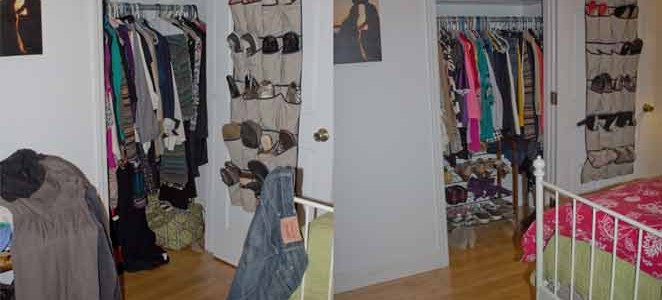 Makeover Monday::A Closet Case