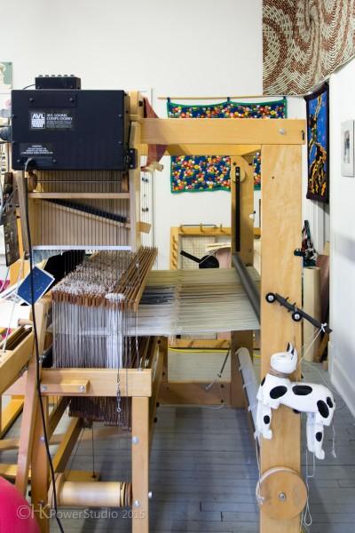 Weaver Selinde Lanier's Studio Sneak Peek:IMG_6463