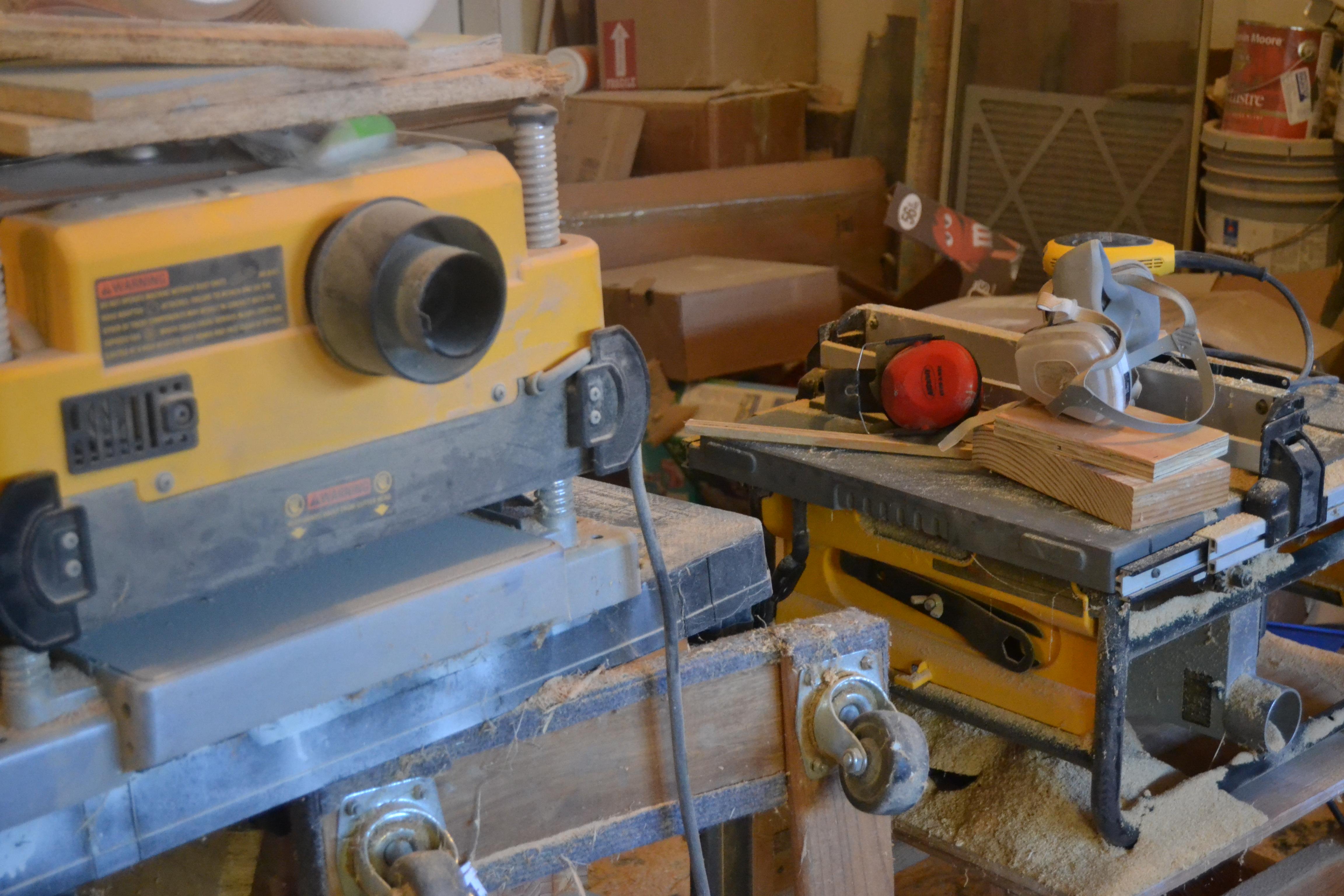 Craig Colorusso's workshop