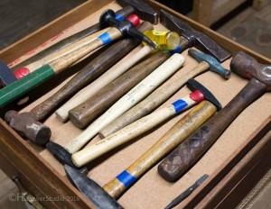 Jewelers hammers