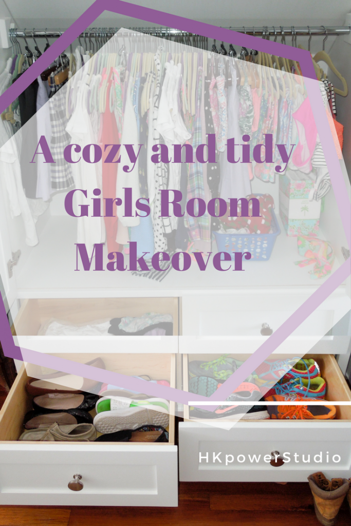 cozy and tidy girls room