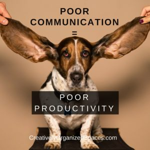 communication affects productivity