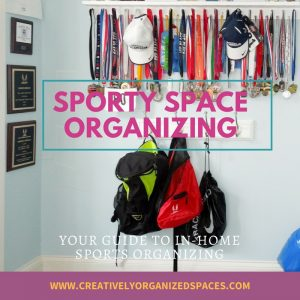 Sporty Space Organizing