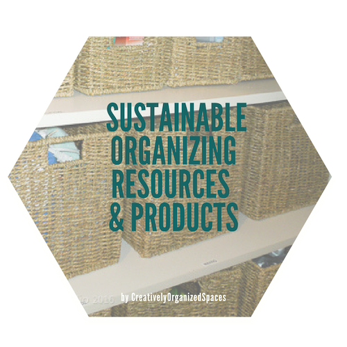 Organizing Products & Resources
